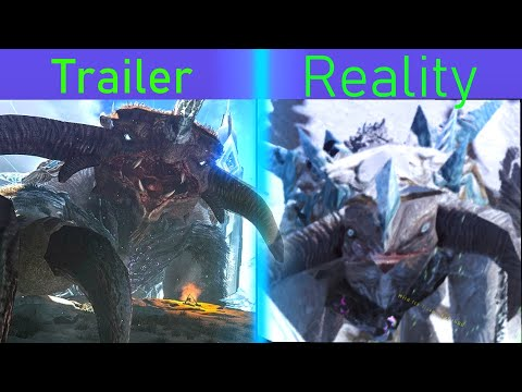ARK Trailer vs Reality