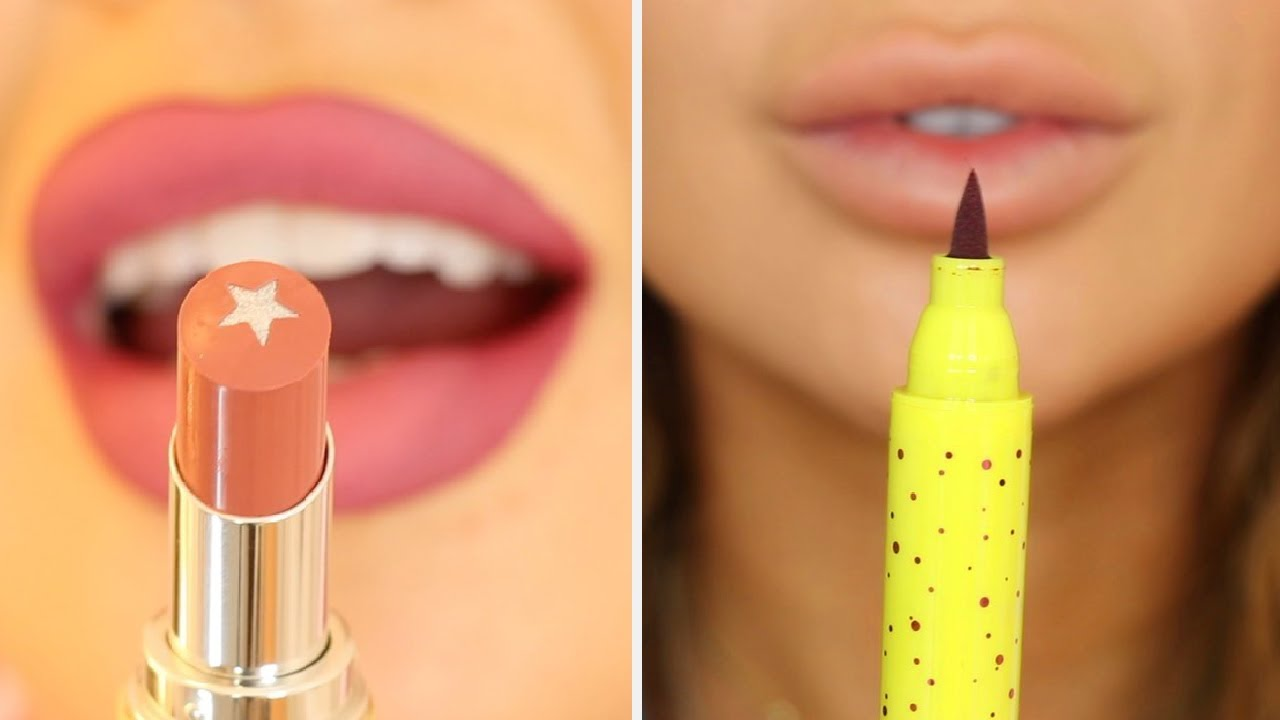 These 21 Lipstick Tutorials Will Change Your Morning Makeup Routine! | Compilation Plus