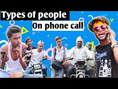 Types Of People On Phone Call | Types Of People | VK Ki Vines