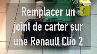 Remplacer un joint de carter sur une Renault Clio 2