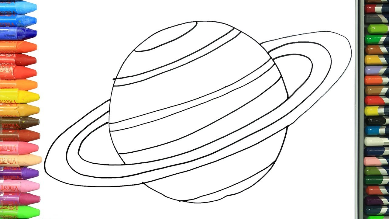 Gezegen Saturn Nasil Yapilir Nasil Cizilir Boyama Ve Resim Yapma