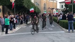 Corsa dei Bersaglieri a Montenero di Bisaccia