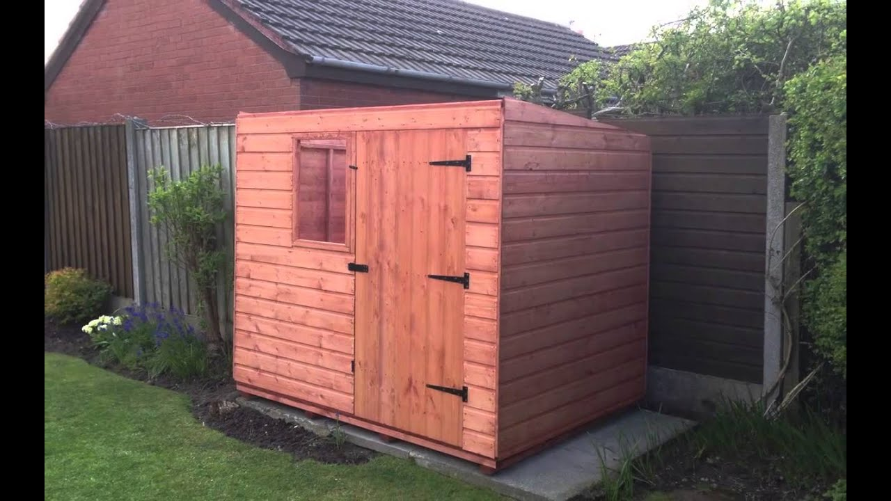 7x5 heavy duty tool shed by atlas sheds - Garden Sheds 7x5