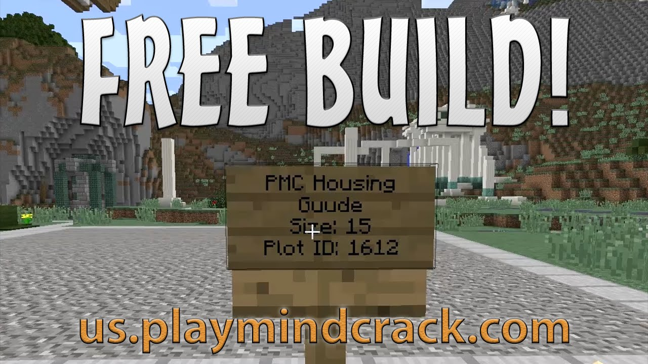 Playmindcrack free build for plots my atlantean house for Build my house online