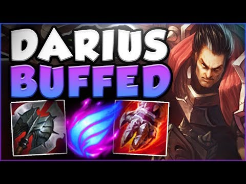 DID RIOT GO OVERBOARD WITH THESE NEW DARIUS BUFFS?? DARIUS SEASON 8 TOP GAMEPLAY! League Of Legends