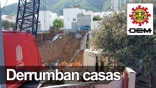 Se derrumban casas en Monterrey / OEM thumbnail