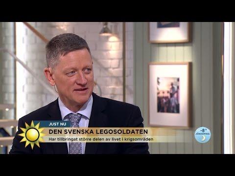 """Den svenska legosoldaten: """"Jag rymde från legionen"""" - Nyhetsmorgon (TV4)"""