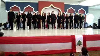 Dabke Mexico Lebanon Yabalna Shatti ya denyi Fayrouz Mahrajan 2010
