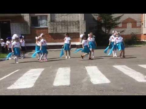 Комсомольск-на-Амуре Флэшмоб Красная гвоздика