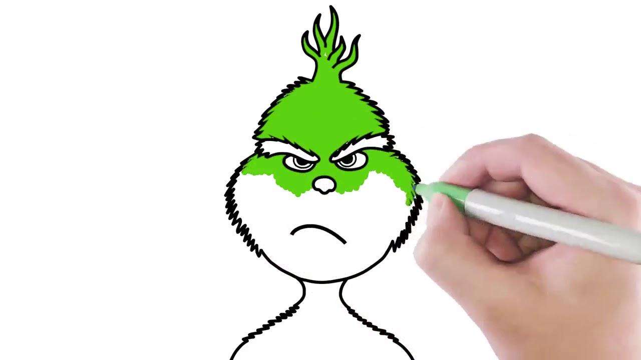 Jak Nakreslit Grinche Kresleni Pro Deti Youtube