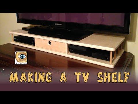 Making A TV Shelf