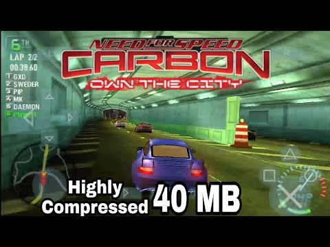 Need For Speed Carbon Own The City Psp Youtube