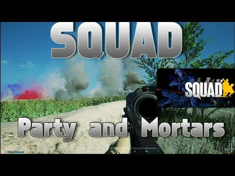 "Squad Gameplay - ""Do we win?"" And Intense mortar fire"