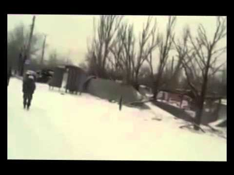Ukraine war News Today 16 01 2015 Road cyborgs from Donetsk airport to the position