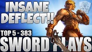 Destiny: Insane Triple Super Deflection - Top 5 Sword Plays Of The Week / Episode 383
