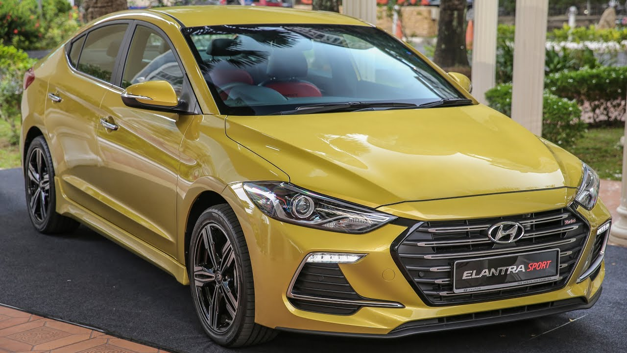 FIRST LOOK: 2017 Hyundai Elantra Sport - 204 PS, 1.6 turbo, RM131k - YouTube
