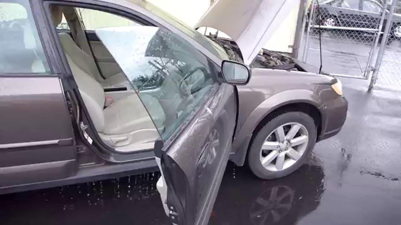 Subaru Outback Interior Water Leak Fix  YouTube