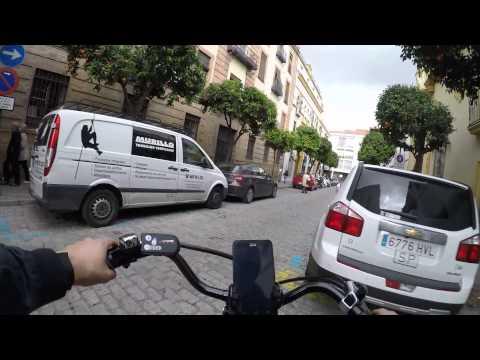 Cycling in Sevilla: Sevilla City Center