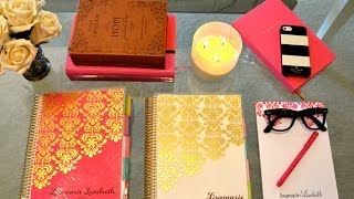 Erin Condren Life Planner Review & Organization 2014-2015 Edition