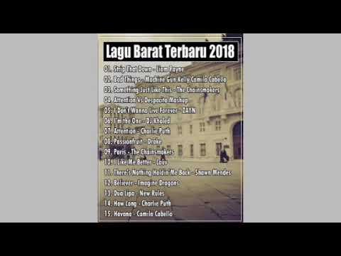 Lagu barat terbaru oktober 2018
