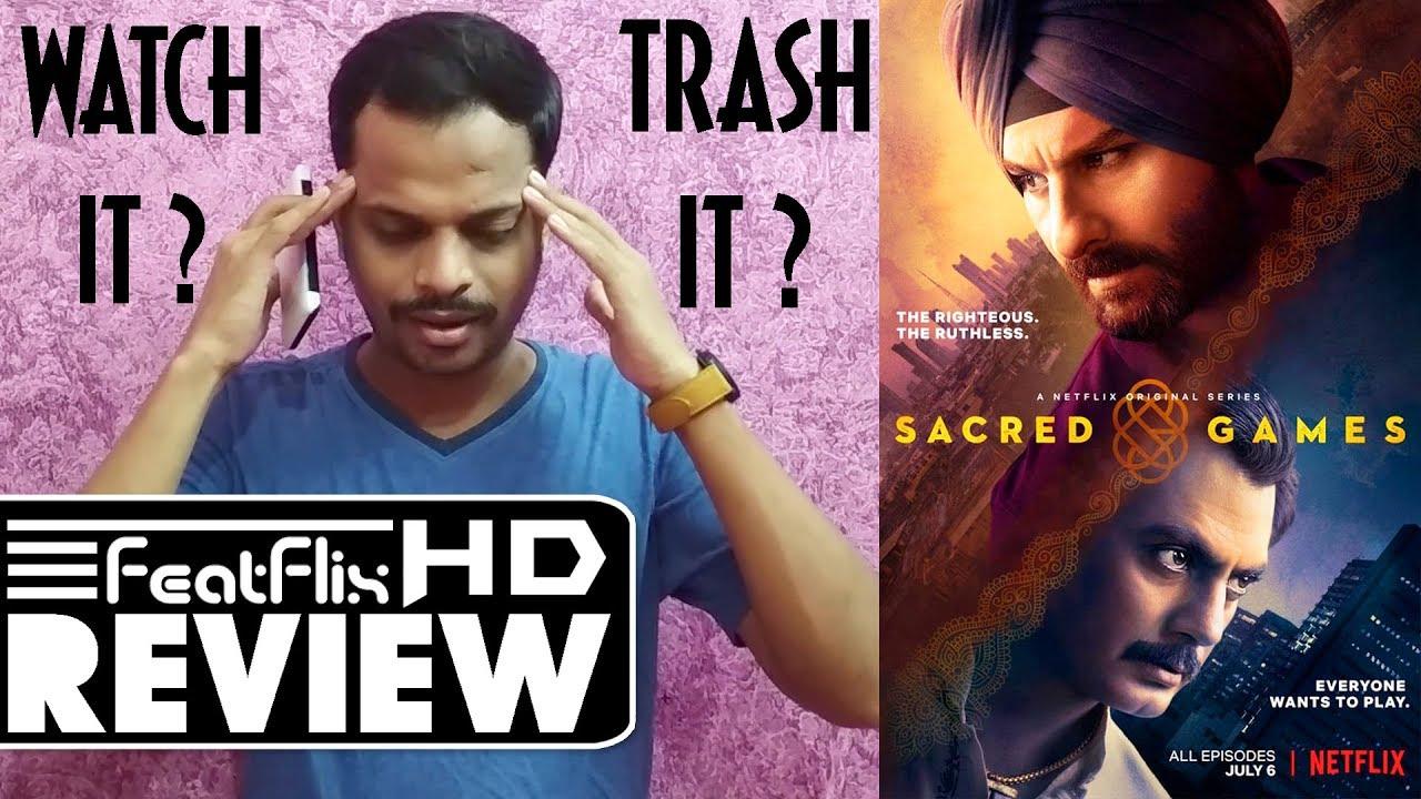 Sacred Games (2018) Season 1 Netflix Action, Crime & Drama Tv Series Review  | FeatFlix
