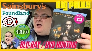 Blu-ray / DVD Hunting with Big Pauly (24/06/2019) Cold Pursuit Poundland OMG