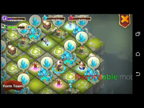Castle Clash SK BEST WITH HEAVY BLOW NO ARGUENT CH