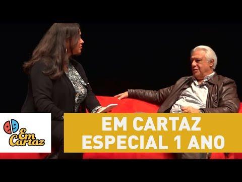Em Cartaz: Programa especial de 1 ano