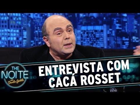 The Noite (08/06/15) - Entrevista com Cacá Rosset