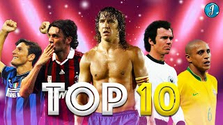 Top 10 Legendary Defenders In Football ● Paolo Maldini ● Roberto Carlos ● Carles Puyol ● & More