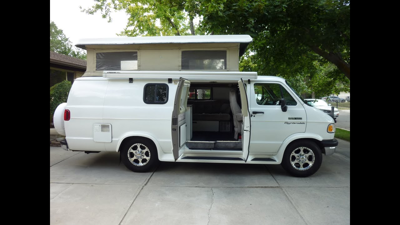 1994 Sportsmobile Dodge Ram Van 350