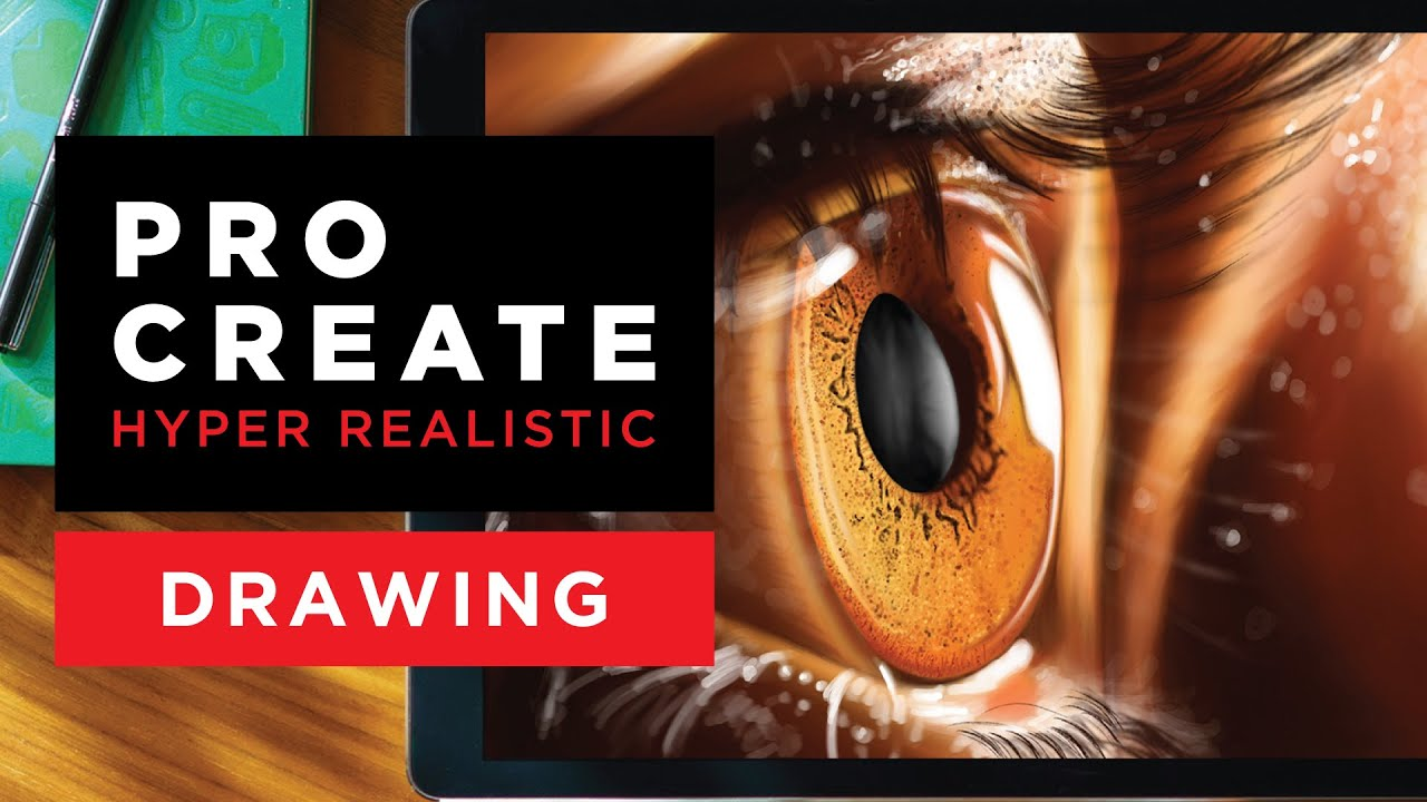 Download HOW TO DO A HYPER REALISTIC DRAWING USING PROCREATE APP