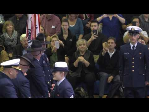 USCG TRACEN Cape May Oscar 193 Graduation