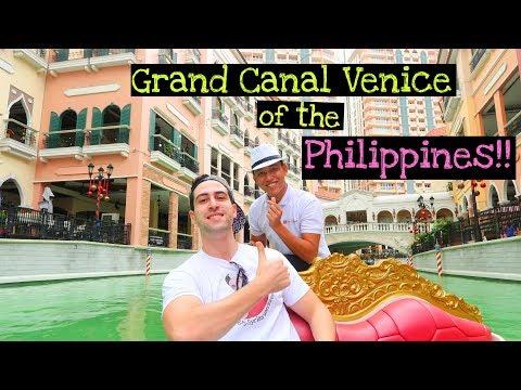 GRAND CANAL Venice of the PHILIPPINES!!   Gandola Ride ⛵