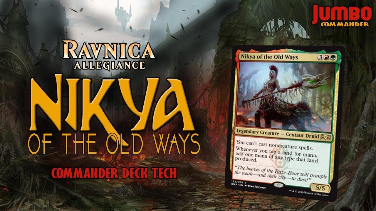 Commander Deck Tech: Nikya of the Old Ways by Jumbo