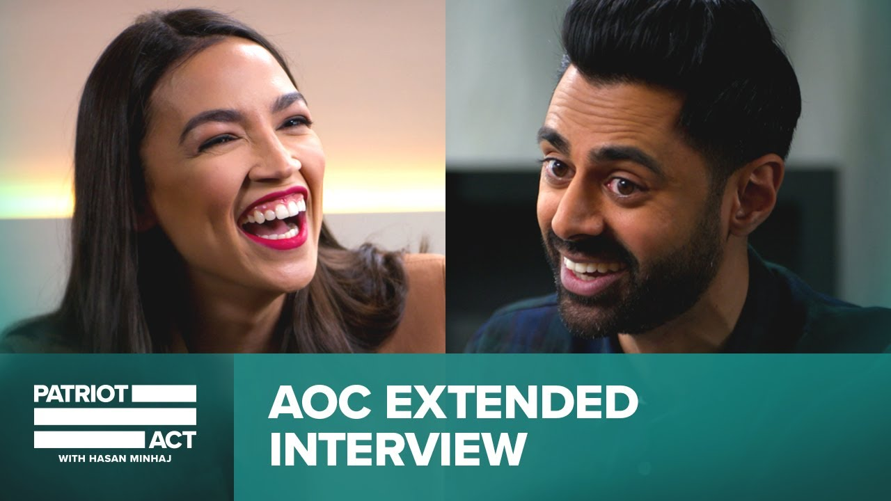 Hasan and AOC Discuss The Green New Deal | Patriot Act Digital Exclusive | Netflix