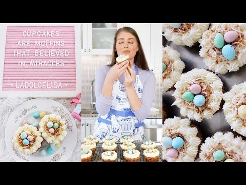 Carrot Cake Cupcakes with Cream Cheese Frosting   Easter Recipe