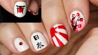 Reto ABC uñas J de JAPÓN / ABC nail challenge J for JAPAN