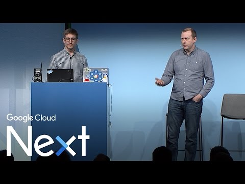 Microservices and Kubernetes: New functionality to build and operate apps (Google Cloud Next '17)