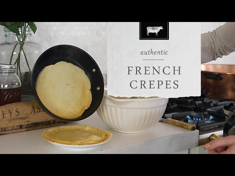 Authentic French Crepe Recipe