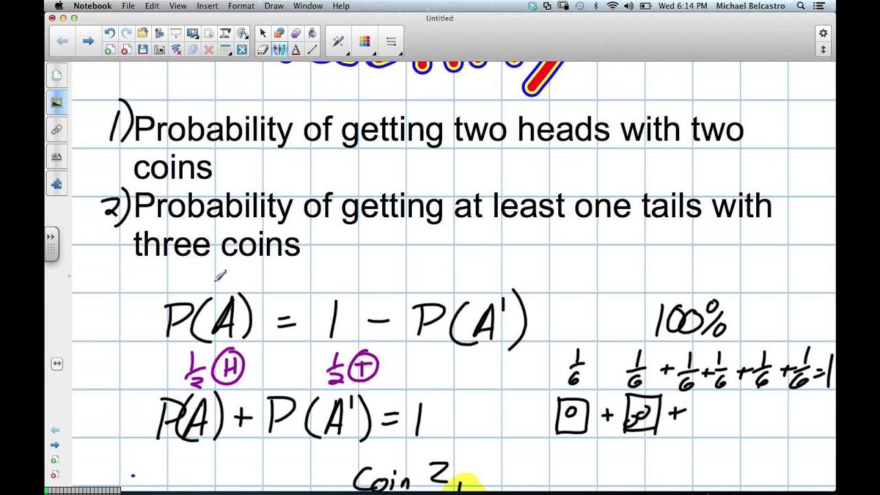 medium resolution of Probability Grade 12 Data Management Lesson 6 1 11 21 12 - YouTube