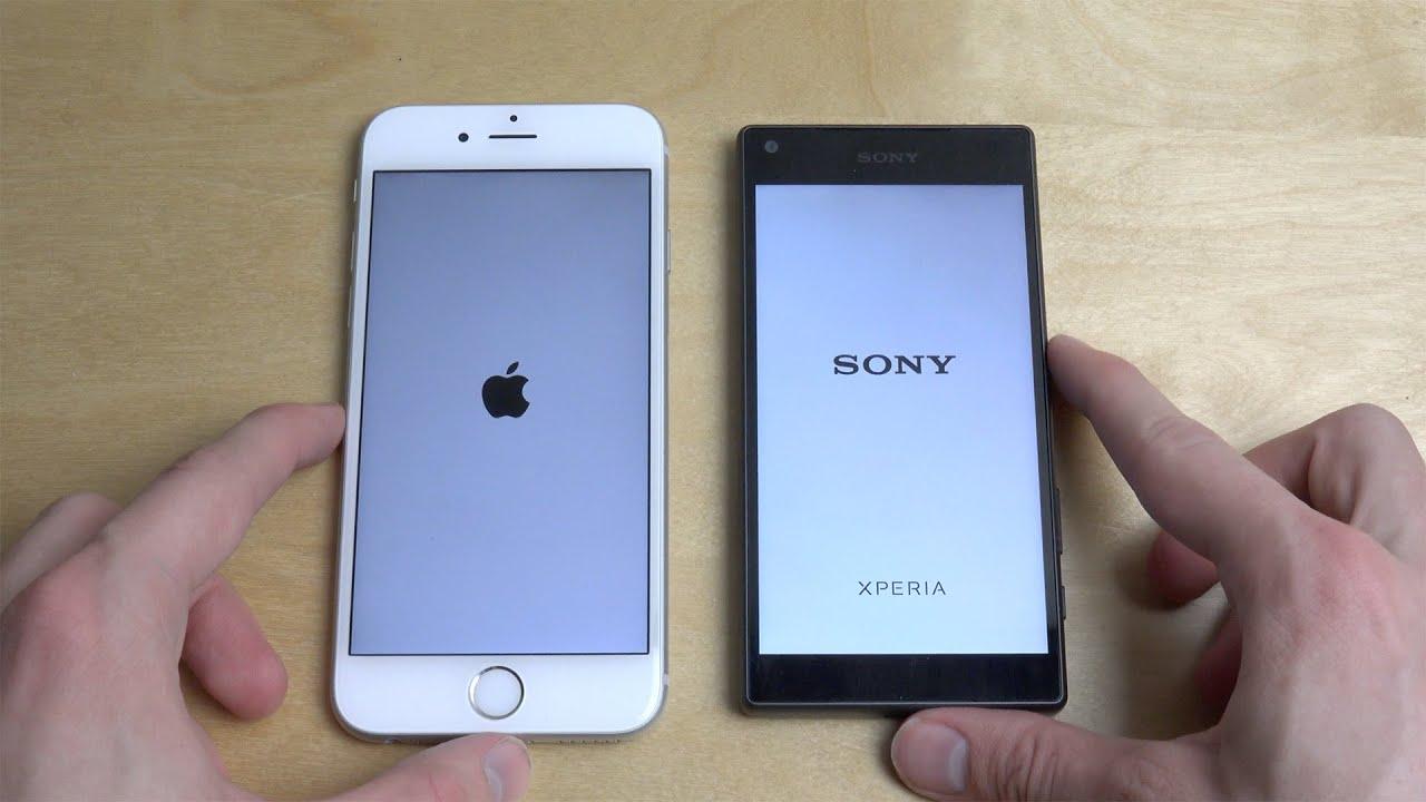 Sony xperia z5 vs iphone 6s