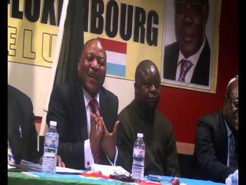 """Mr Alphonse Ebama,Tresorier Général de l""""Apareco dénonce le pillage sauvage des Minerais de la RDC"""