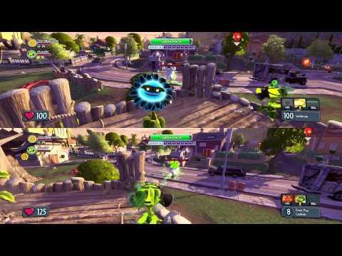 Plants Vs Zombies Garden Warfare E4 2 Split Screen Garden Ops Youtube