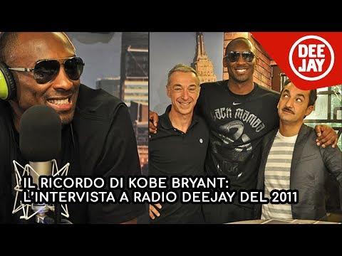 Kobe Bryant a Radio Deejay: l'intervista di Linus e Nicola Savino del 2011