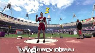 Men's Shot Put | London 2012:The Olympic Games | XBOX 360 | Hard
