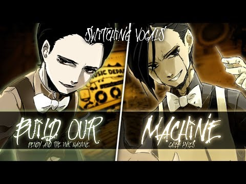 ◤Nightcore◢ ↬ Build our Machine [Switching Vocals | Mashup]