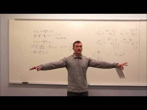 Particle Physics (2018) Topic 11:  Solutions to Dirac Equation, Helicity and Weyl Spinors