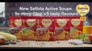 Saffola Active Soups - Stay fit with high fibre