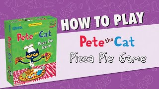 How to Play: Pete the Cat Pizza Pie Game | UG Studios